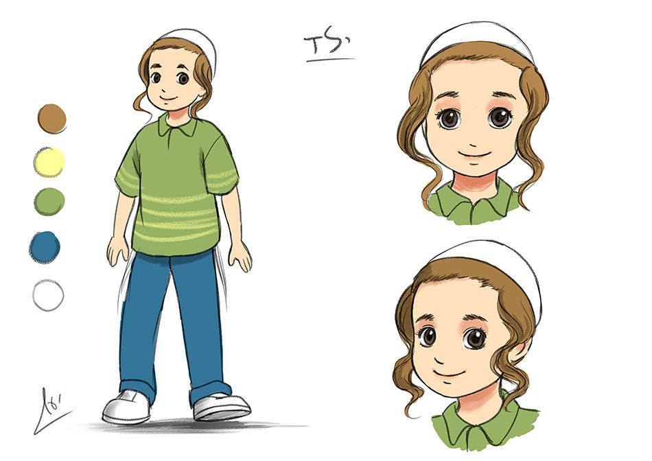 עיצוב דמויות1 - סידור ברסלב